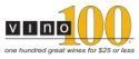 Vino100 logo